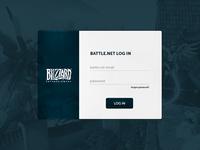 Blizzard Battle.net Login