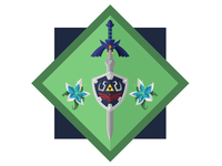 Breath of the Wild / Master Sword + Hylian Shield