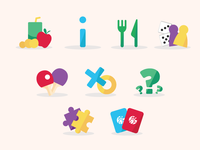 Icons for Kids Concept