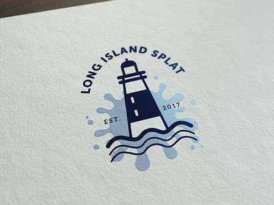 Long Island Splat Logo brand branding event lan local nintendo splatoon splat long island rebrand logo