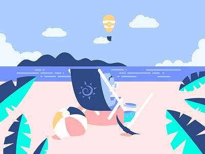 Happy Marine Day (海の日)! beach wumpus fortnite discord