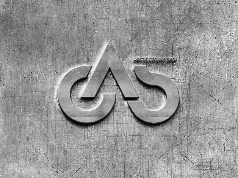 Logo design for Arctic Cycling Shop, Bicycle retailer bycicle retail monogram mark trademark minimal logotype logomark logo design concept logo designer lettermark logodesign logo design logo creation logo concept logo crative logo branding brand identity brand design