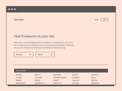Lancerlist - Find Freelancers in Your City