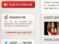 Global Radio Sales Site - Concept Design