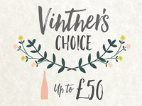 Vintner's Choice product image design