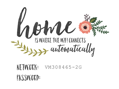 home is where the wifi connects automatically by m j magee dribbble. Black Bedroom Furniture Sets. Home Design Ideas