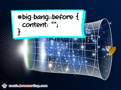 Big Bang CSS Pun