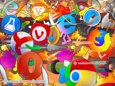 Browser Wars browserling internet explorer opera safari firefox chrome vivaldi browser yandex browser beaker browser brave browser