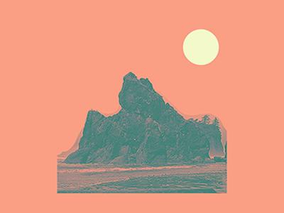 Ruby Beach // POSTER // POSTCARD // COASTER // PRINT