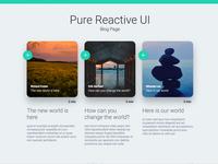 Pure Reactive Ui