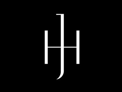 JH - Monogram monogram d marca wordmark argentina buenos aires los caballos collection identity mark logotype logo