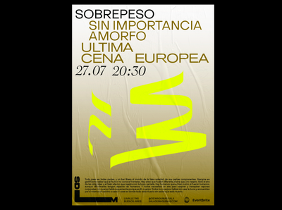 Sdm Poster typography design los caballos branding argentina buenos aires identity poster design poster