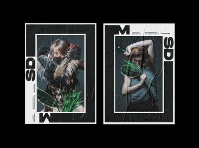 Sdm prints mark poster buenos aires typography marca logotype los caballos branding identity argentina