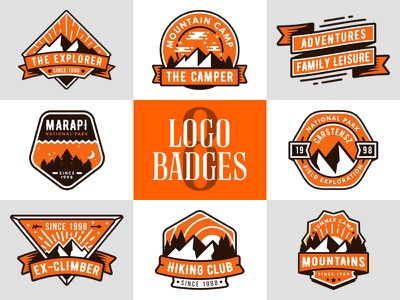 Preview adventure logo badge