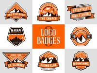 Adventure Logo Badges v1