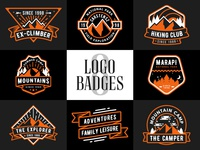 Adventure Logo Badges v2