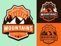 summer camp badge