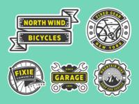 free bike shop logo part 1