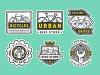 Free bike shop logo part 2