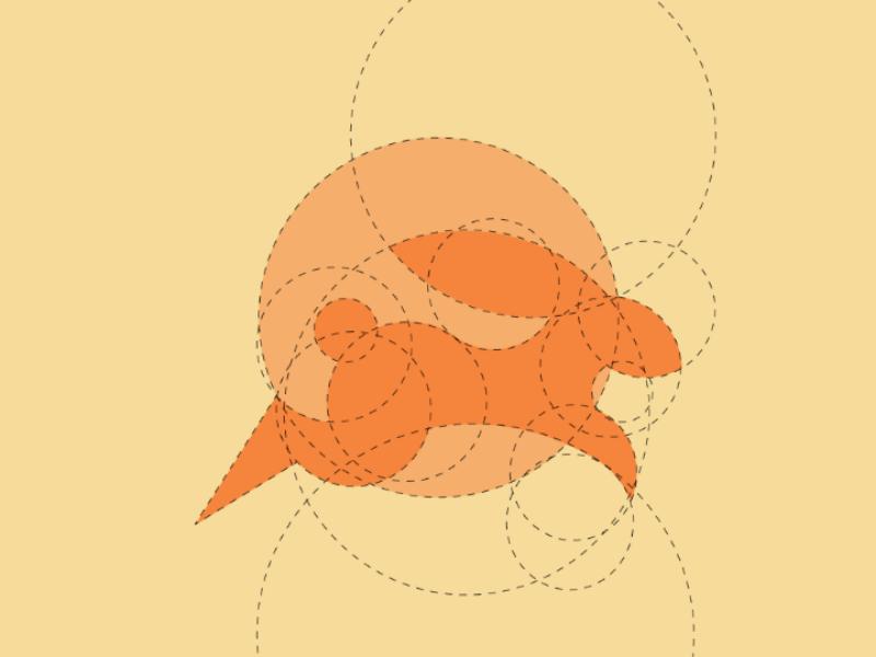 Rabbit logo concept psd eps ai illustration vector animal template bunny rabbit logo