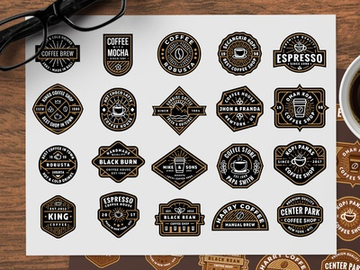 Free Coffee Shop Logos (part 2)