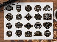 Free Coffee Shop Logos (part 2)