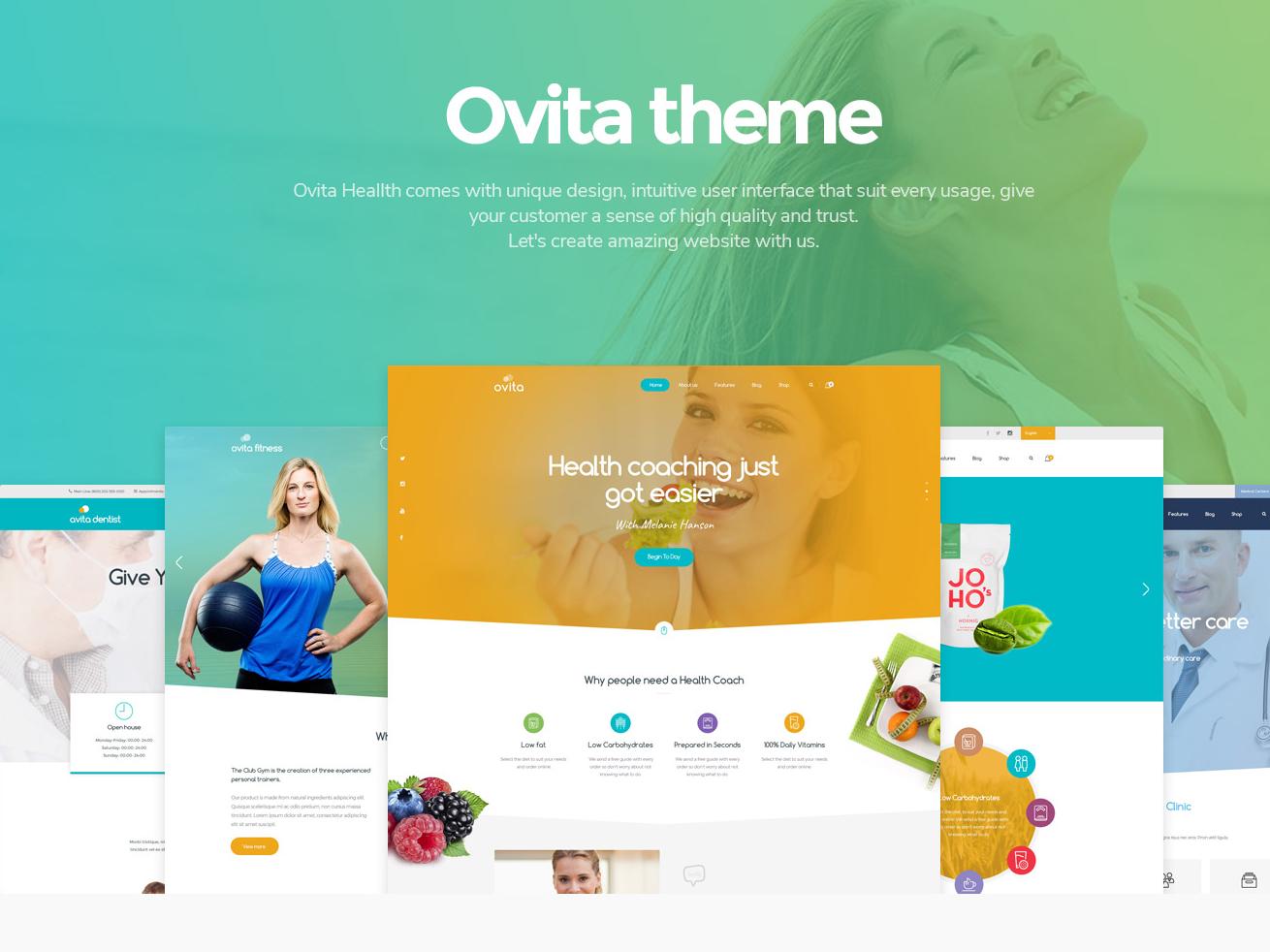 Landing Page ux web design