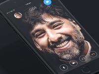 Call Screen UI