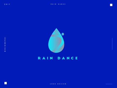Rain Dance Logo Design icon adobe typography monogram modern minimalist logo minimal logotype logo designer logo letters lettermark identity graphic designer dance rain branding brand