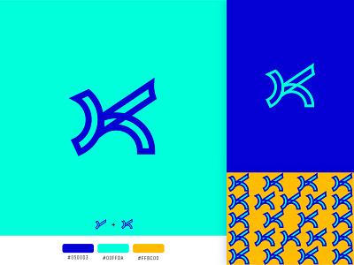Letter Y + K monogram logo design. minimalist logo modern logotype typography letters minimal identity branding monogram lettermark k logo logo yk logo yk y letter y y logo