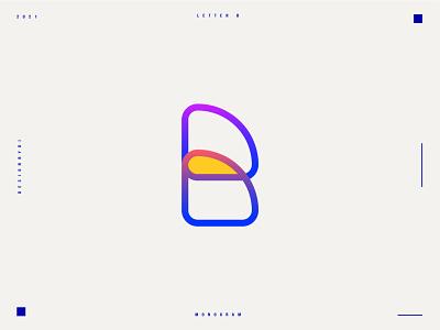 Lettermark B - B monogram logo design identity logos adobe graphicdesign alphabet icon 2d lineart logotype typography letters minimal brand identity logo monogram lettermark