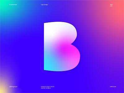 B Lettermark logo alphabet best logos b logo b lettermark monogram lettermark modern logo brand identity brand b branding ui graphicdesign typography logos icon identity minimal logo