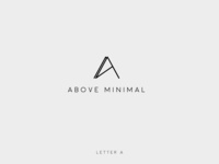 ALPHABET Minimalist logo collection #letterA