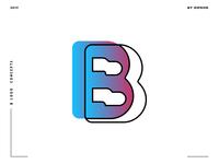 Letter B logo design concept 04