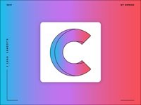 Letter C logo design concept 01