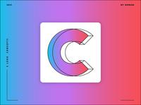 Letter C logo design concept 02