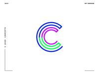 Letter C logo design concept 04