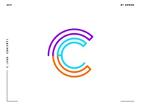 Letter C logo design concept 05