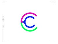 Letter C logo design concept 06