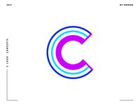 Letter C logo design concept 07