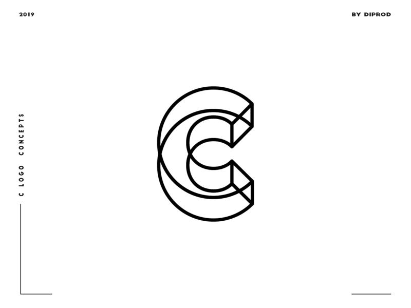 Letter C logo design concept 08 by di prod on Dribbble