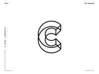 Letter C logo design concept 08