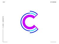 Letter C logo design concept 09