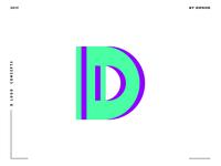 Letter D logo design concept 02