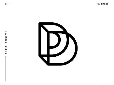 Letter D logo design concept 09 d logo d letter d poster typography minimal logos letter illustrator identity icon graphicdesign design branding brandidentity brand alphabet logo adobe 2d
