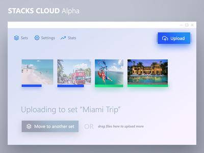 Stacks Cloud - UI Design