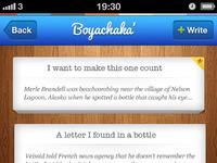 Iphone author app