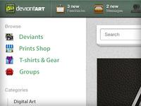 DeviantArt Redesign Concept