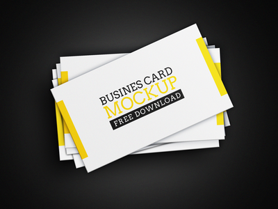 FREEBIE- BUSINESS CARD MOCKUP
