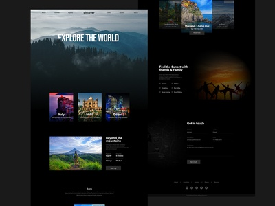 Travel Homepage